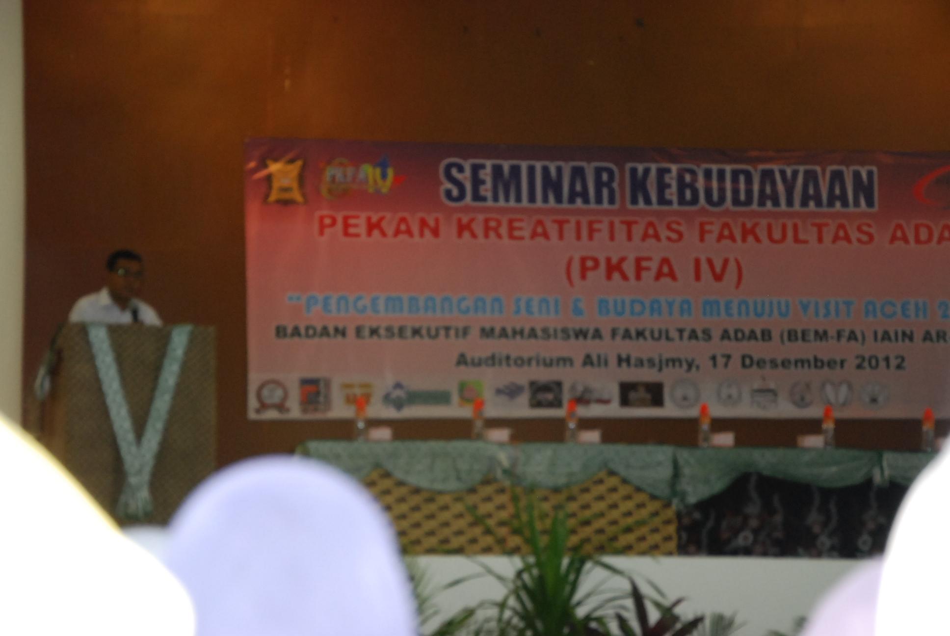 BEMA-FA Gelar Seminar Kebudayaan
