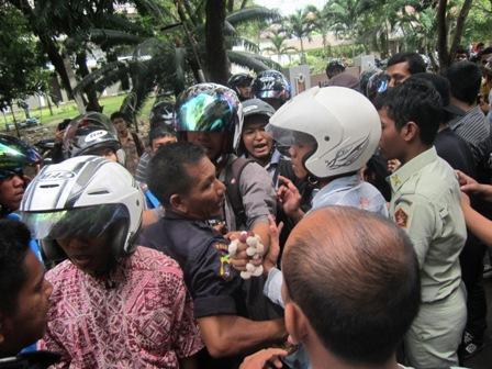 Mahasiswa Boikot Pelaksanaan Mubes IAIN Ar-Raniry