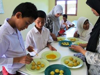 Foto | Cooking Class `Sekolah Luar Biasa`