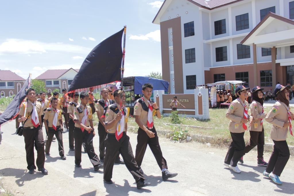 Foto   Kegiatan Kemah Kampus Tingkat Penegak Di IAIN