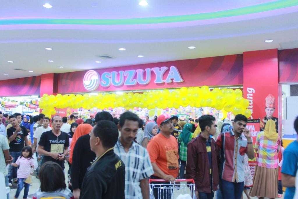 Foto   Kemeriahan Peresmian Suzuya Mall Aceh
