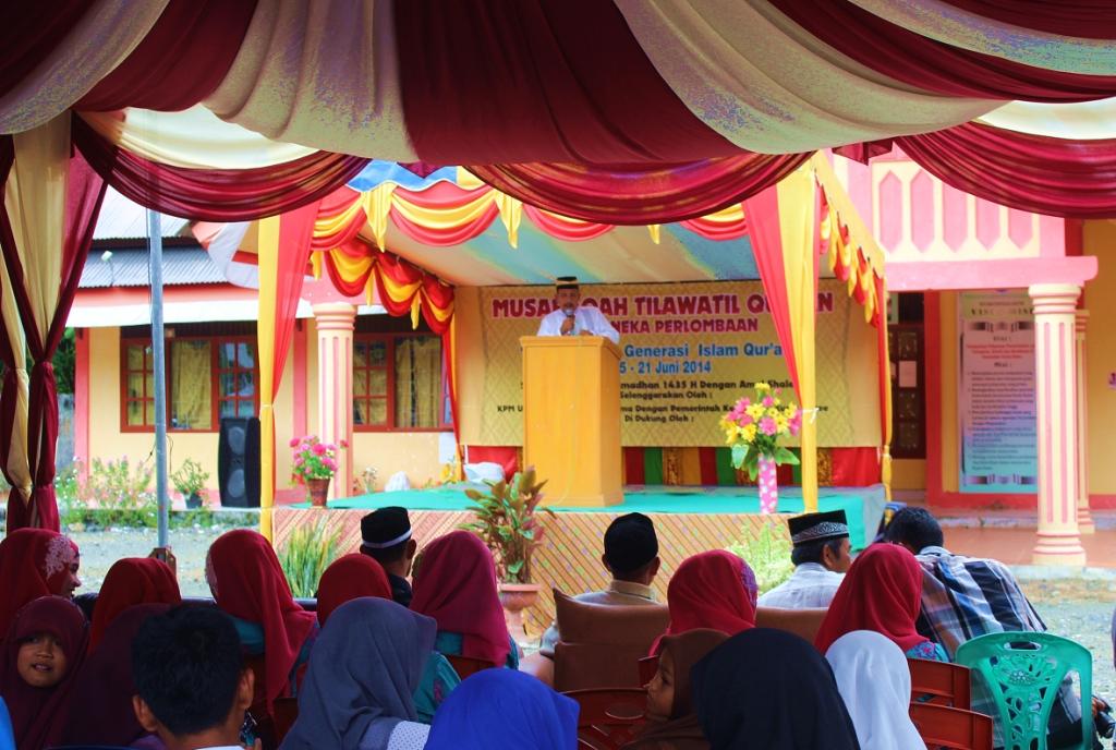Mahasiswa KPM UIN Ar- Raniry Gelar MTQ Di Kuala Bate