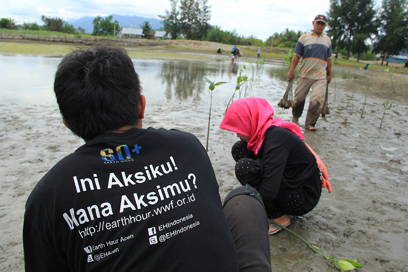 Ini Aksiku Mana Aksi Mu (Foto M Iqbal-SeputarAceh.com)