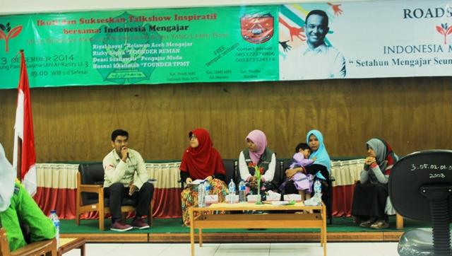 Talk Show Inspiratif Bersama Indonesia Mengajar