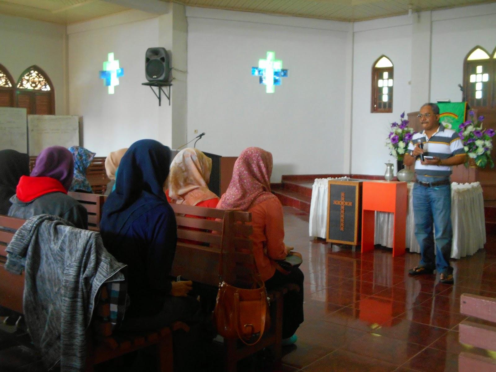 Terkait Dosen UIN Ajak Mahasiswa Ke Gereja, Ini Tanggapan Wakil Rektor III