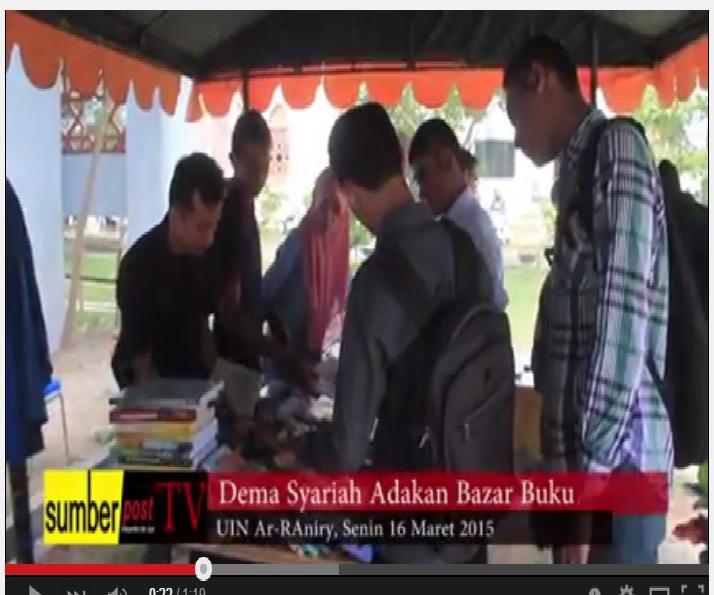 Sumberpost TV | Dema Syariah Adakan Bazar Buku