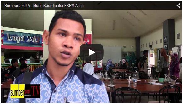 SUMBERPOST TV – Murti, Ketua Forum Komunikasi Pers Aceh