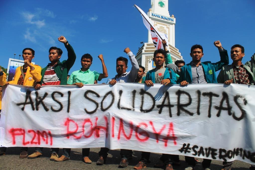 Mahasiswa Indonesia : Kasus Rohingya Adalah Masalah HAM