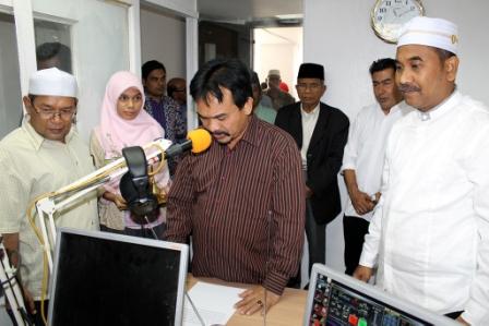 Sumberpost TV – RRI dan Radio Assalam Jalin Kerjasama