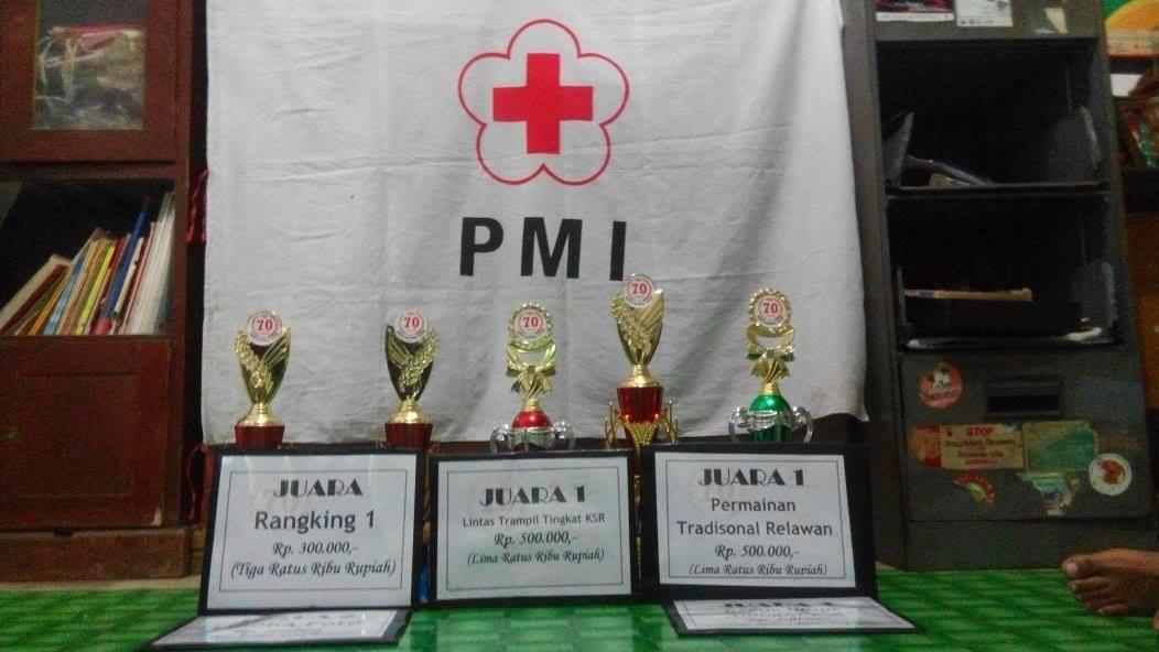 KSR PMI Bawa Pulang Lima Piala di HUT PMI ke 70