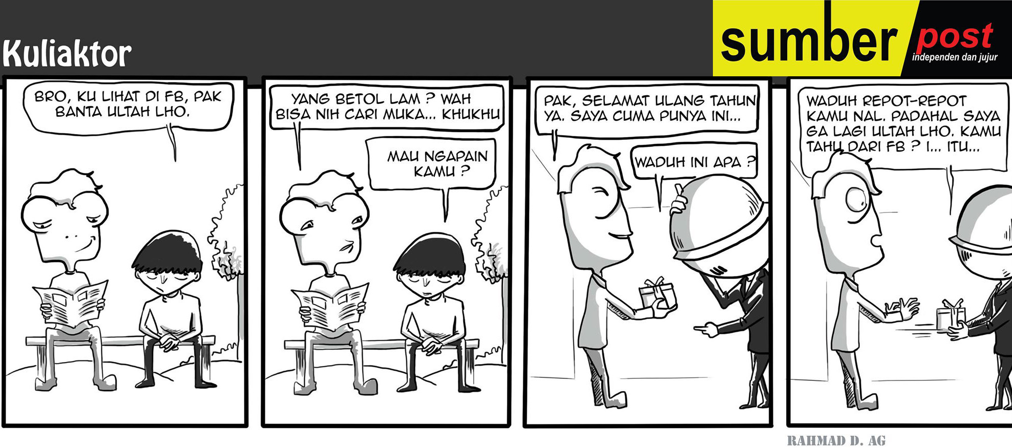 Komik | Kado Untuk Dosen