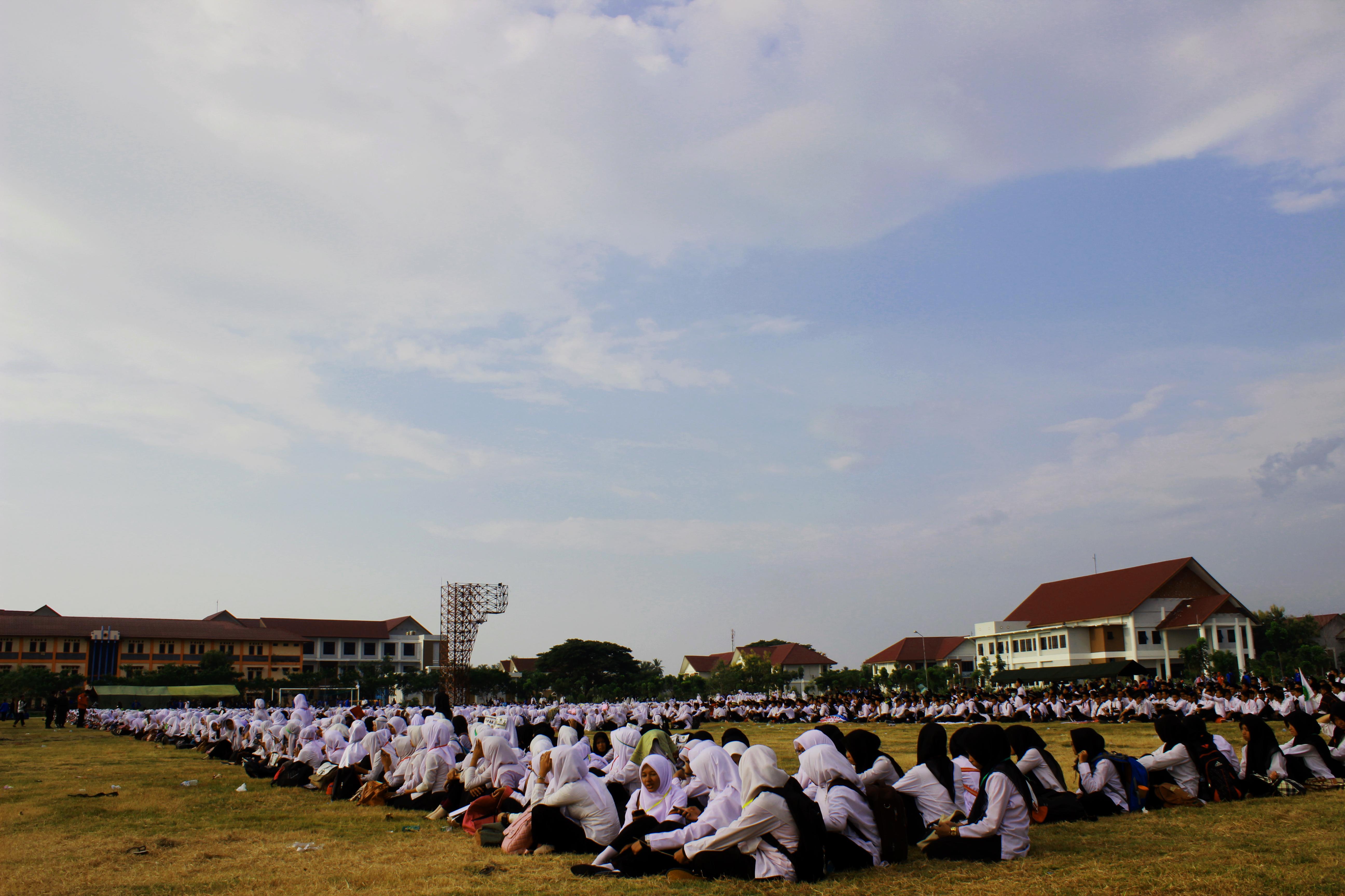 Aksi Mahasiswa Baru UIN Ar-Raniry Usai OPAK 2015