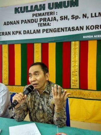 Sumberpost TV – Wakil Ketua KPK Ajak Mahasiswa Lawan Korupsi
