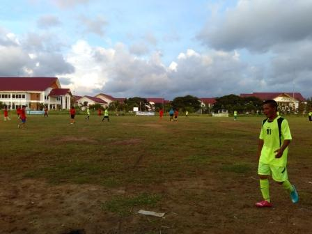 Turnamen Bola Tarbiyah Fair Resmi Dibuka