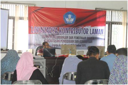 Badan Pengembangan dan Pembinaan Bahasa Gelar Pelatihan Jurnalistik