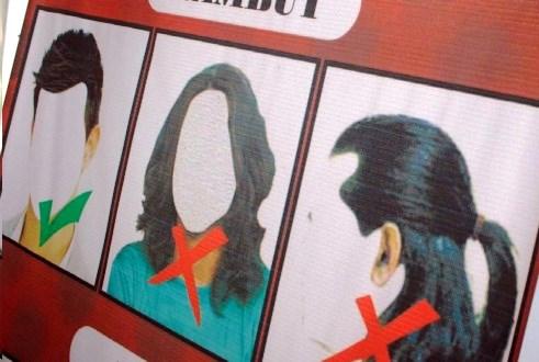 Rambut Gondrong Kenapa Harus Dilarang?
