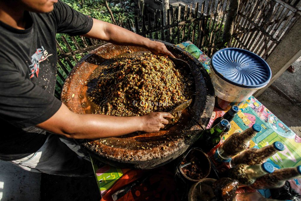 Lincah Busu Rujak Khas Aceh