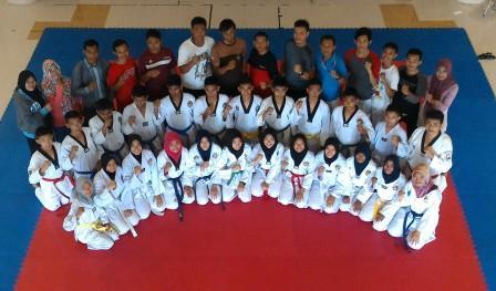 Atlet Taekwondo Aceh Besar Adakan Seleksi POPDA