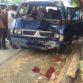 kecelakaan lalu lintas, l300, peristiwa. foto rizqy