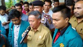 Dinas pendidikan Aceh, videotron, darjo, foto Hadi