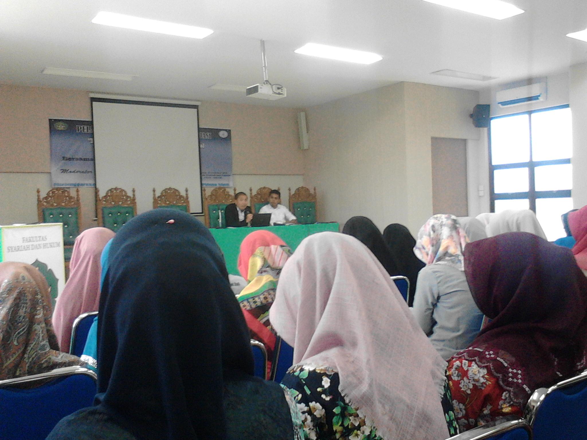 HPI UIN Ar-Raniry Gelar Pelatihan Kepengacaraan dan Mediasi