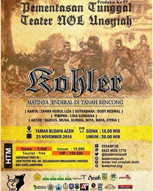 Teater Nol Unsyiah Ajak Siswa Nonton Teater