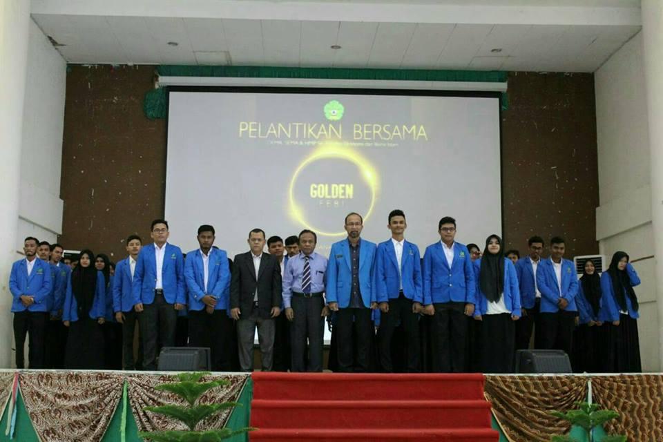 Pimpinan Organisasi Mahasiswa FEBI Dilantik