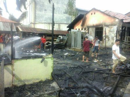 Empat Rumah Terbakar di Darussalam