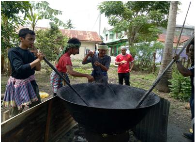 Bubur Asyura Ala Mahasiswa Pattani di Aceh
