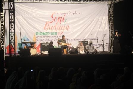 Kontingen Luar Aceh Ramaikan Panggung Seni