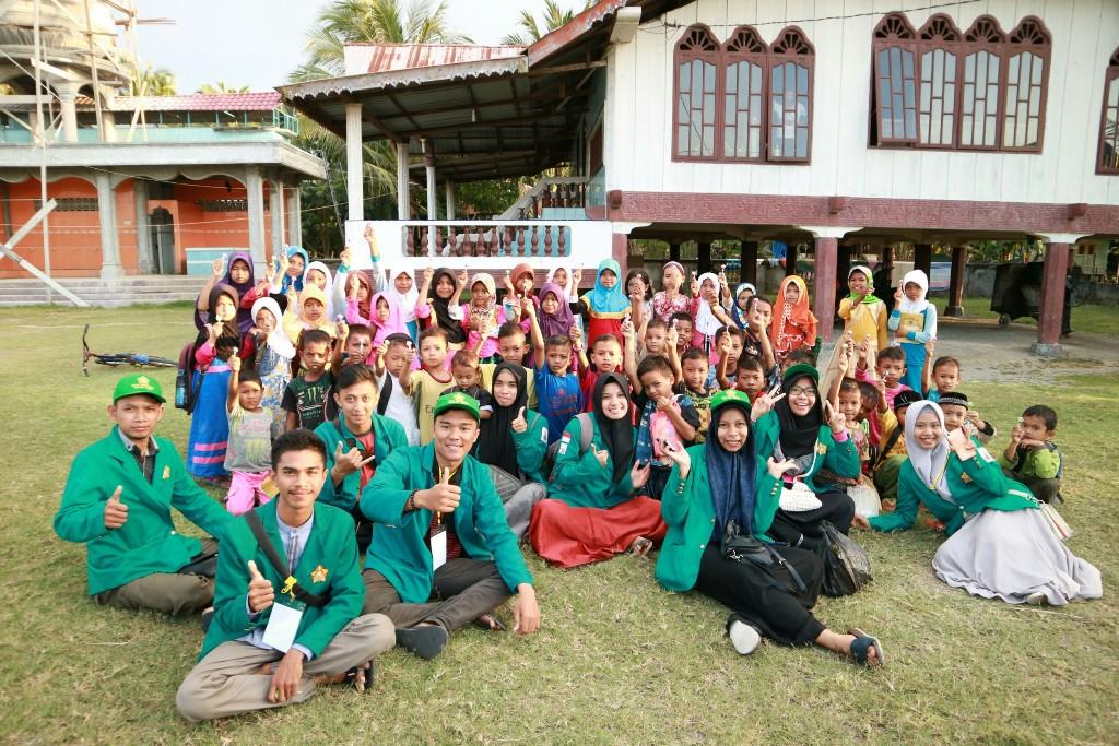Ini yang Dilakukan Mahasiswa KKN Unsyiah di Aceh Utara