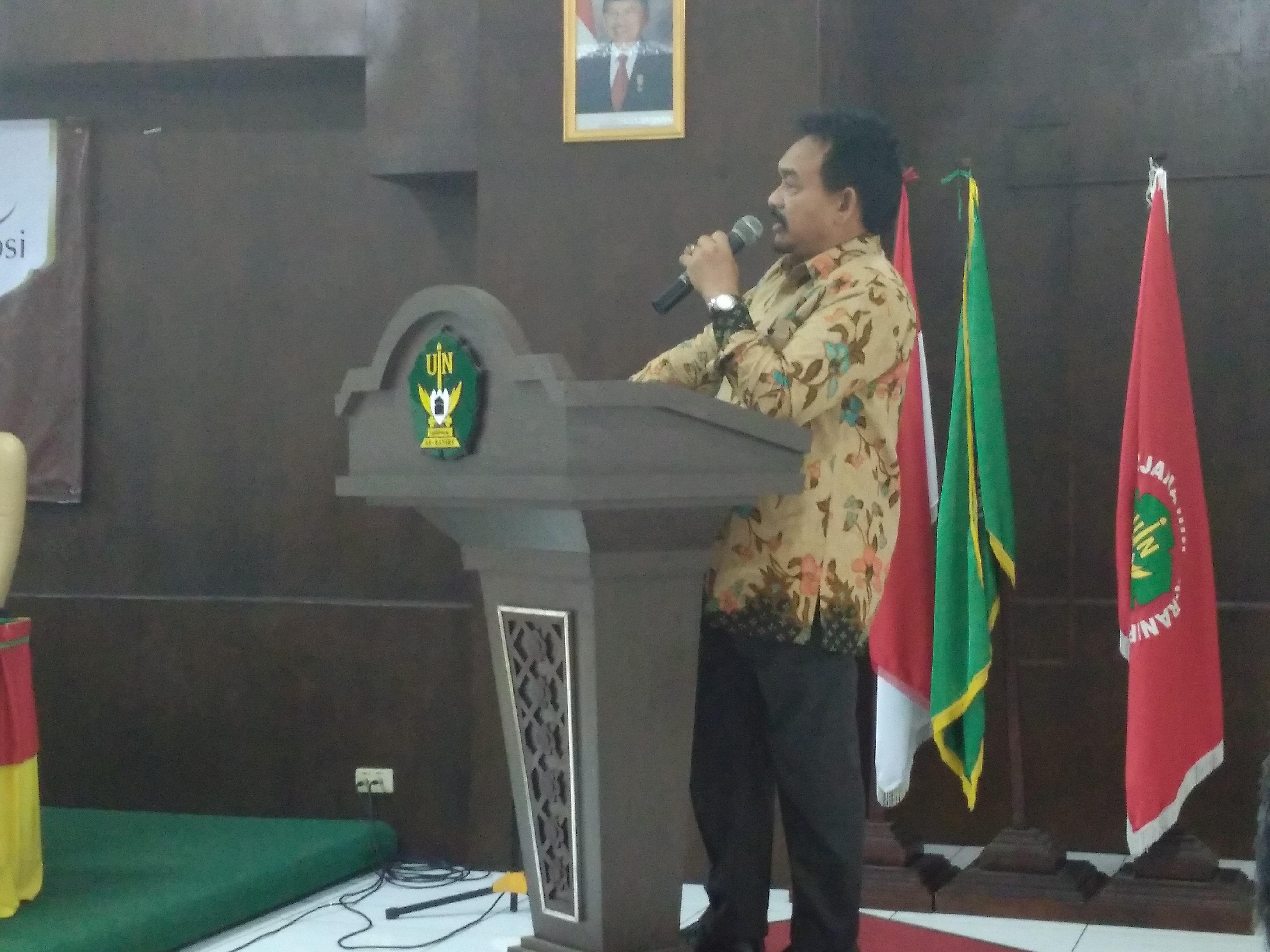 Rektor: Pejabat Tidak Perjuangkan Syariat, Haram Makan Gaji