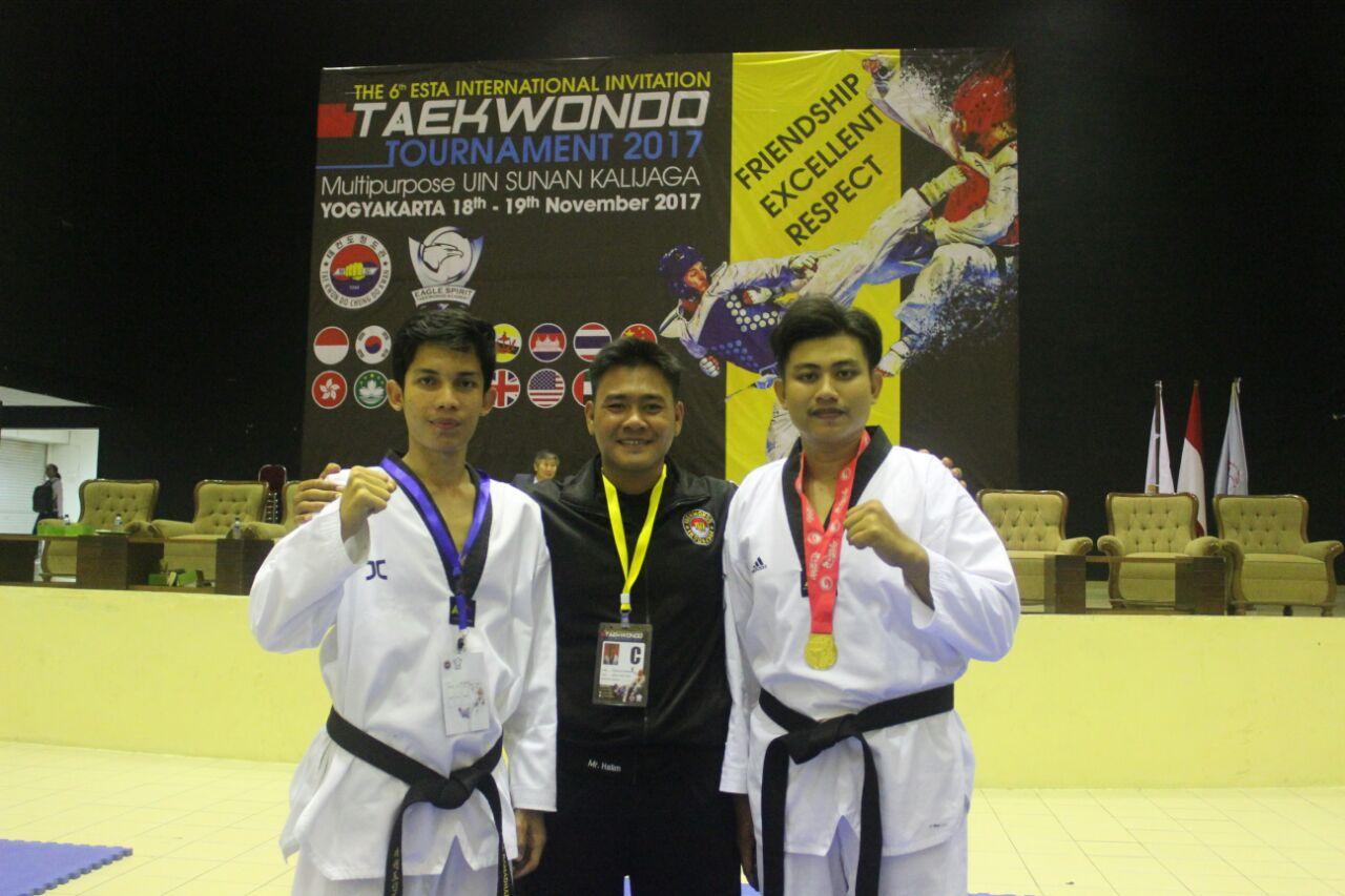 Taekwondo UIN Raih Emas pada Kejuaraan The 6th ESTA