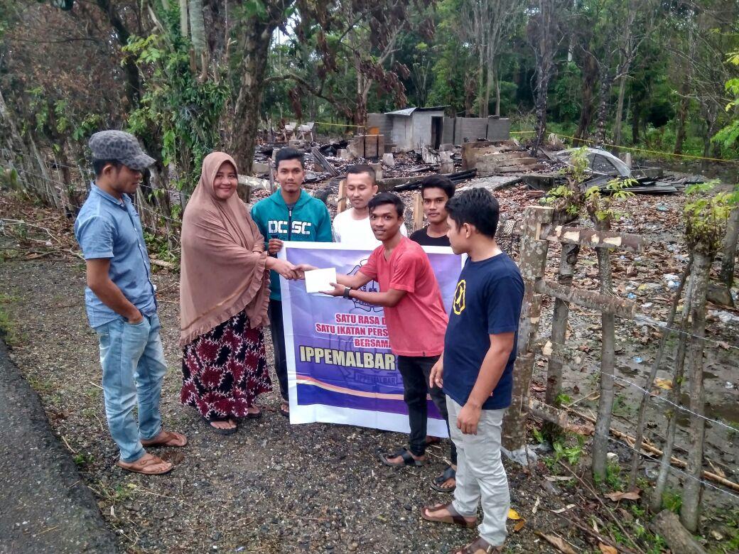 Ippemalbar Harapkan Bantuan Rumah untuk Azizah, Korban Kebakaran