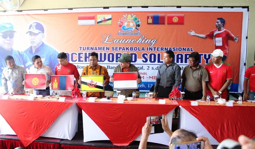 Empat Negara Ikut Aceh Word Solidarity Cup 2017