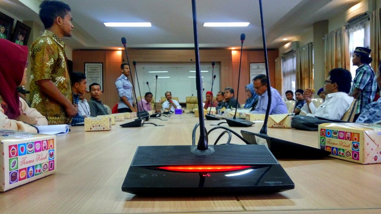 Pimpinan Organisasi UIN Ikut Rapat Koordinasi Kemahasiswaan