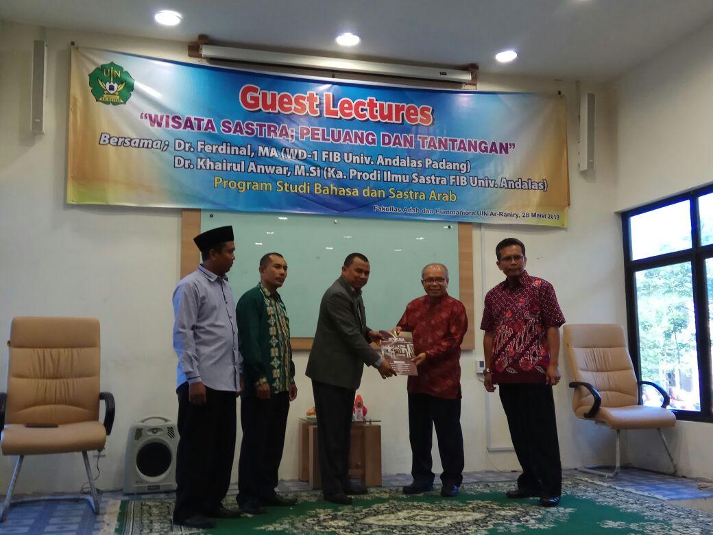 Fakultas Adab dan Humaniora UINAR Jalin Kerja Sama Dengan Fakultas Ilmu Budaya Universitas Andalas