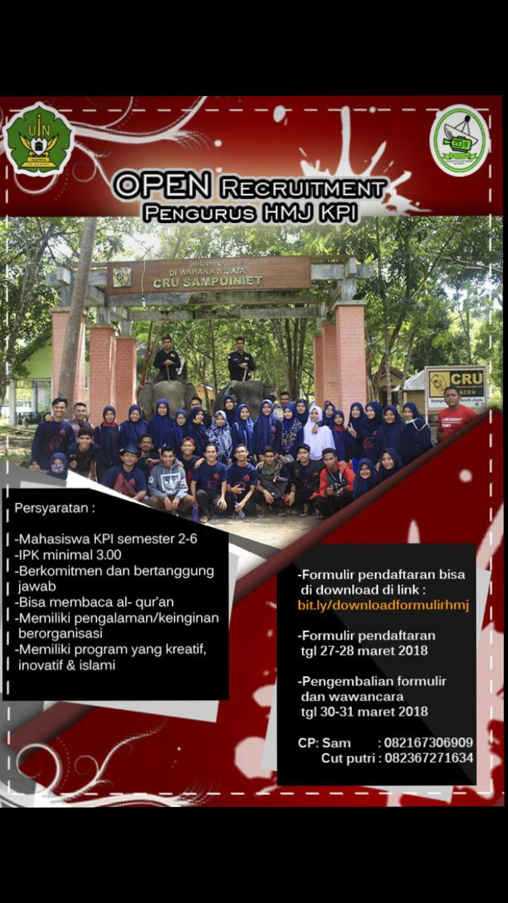 HMJ KPI Buka Open Recruitmen