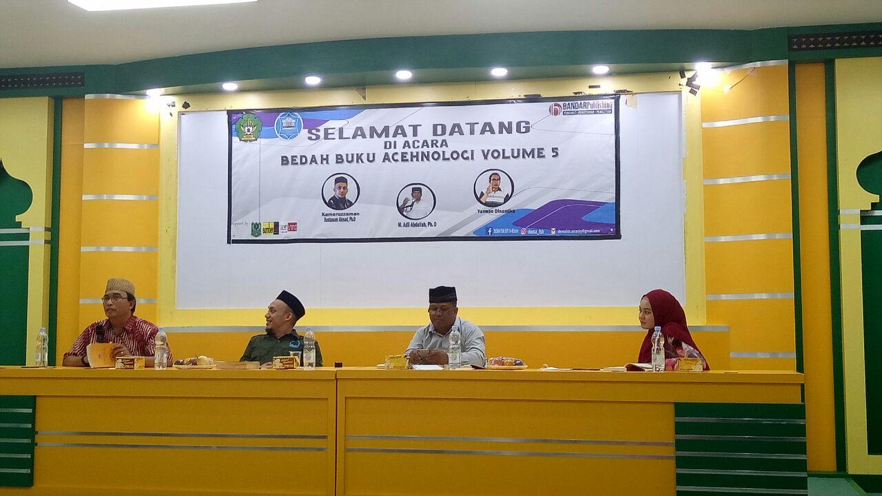 Dema FSH Gelar Bedah Buku Acehnology Volume 5