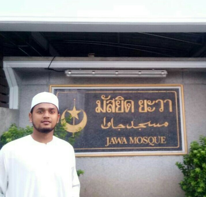 Mahasiswa UIN Ar-Raniry Jadi Imam Tarawih di Bangkok