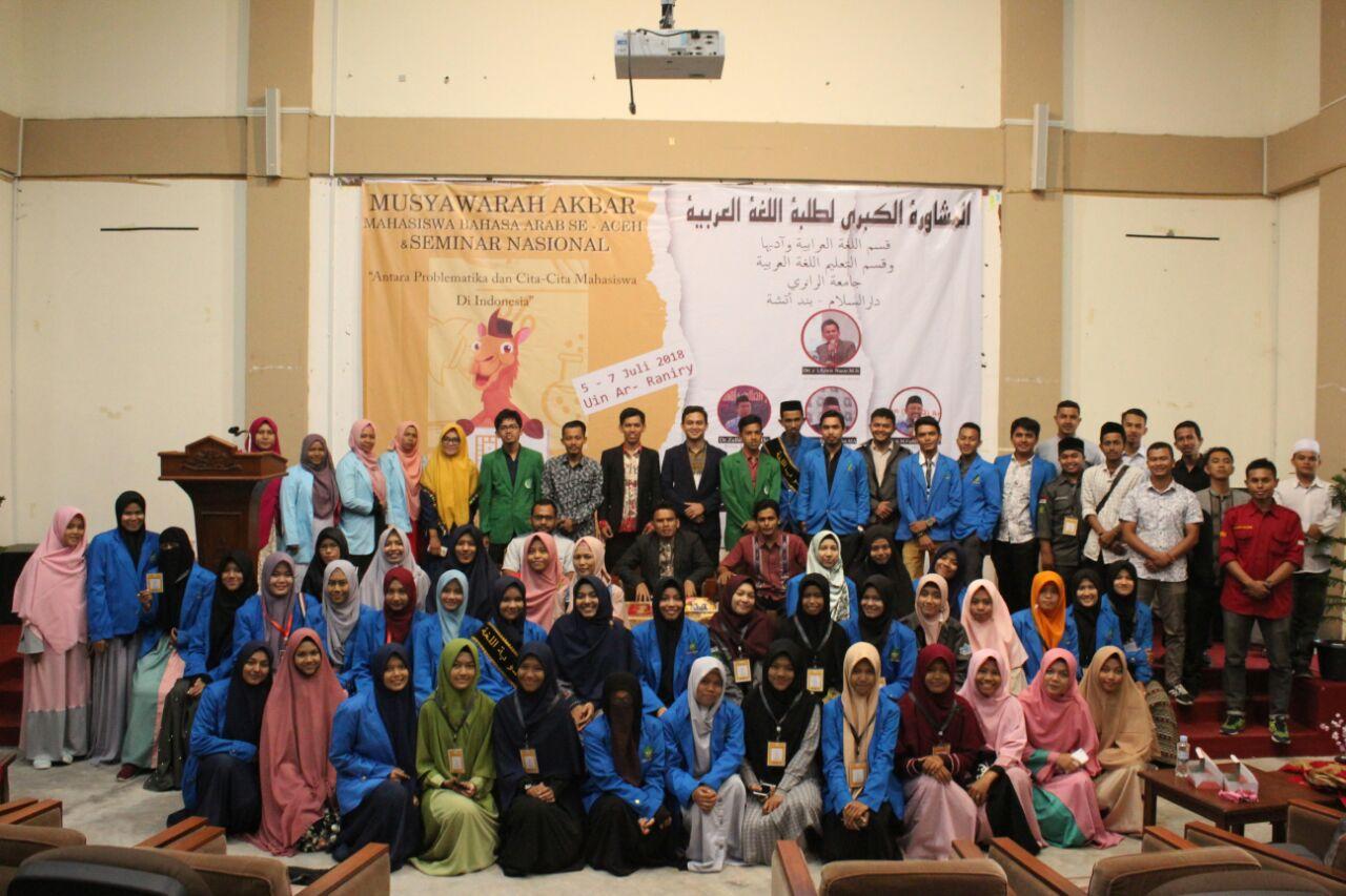 Musyawarah Akbar Mahasiswa Bahasa Arab se-Aceh