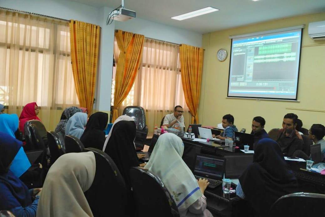 Puluhan Penyiar Baru Radio Assalam Ikuti Pembekalan