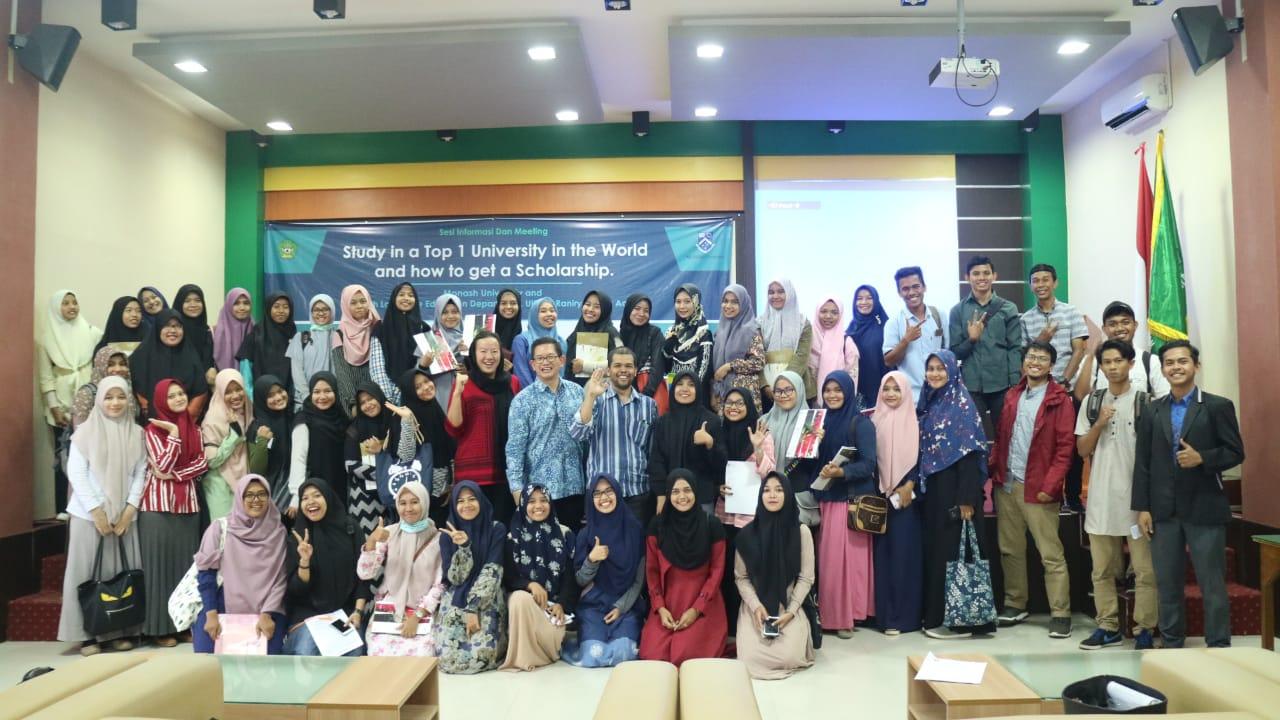Selenggarakan Sesi Informasi dan Meeting, Monash University Jelaskan Tips Lulus Kuliah ke Luar Negeri