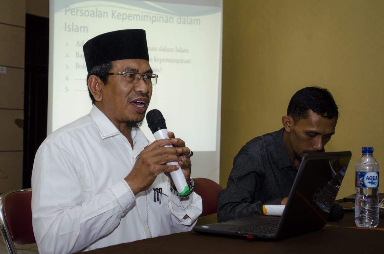 Wadek FSH Sampaikan Tips Jadi Pemimpin Mahasiswa yang Baik