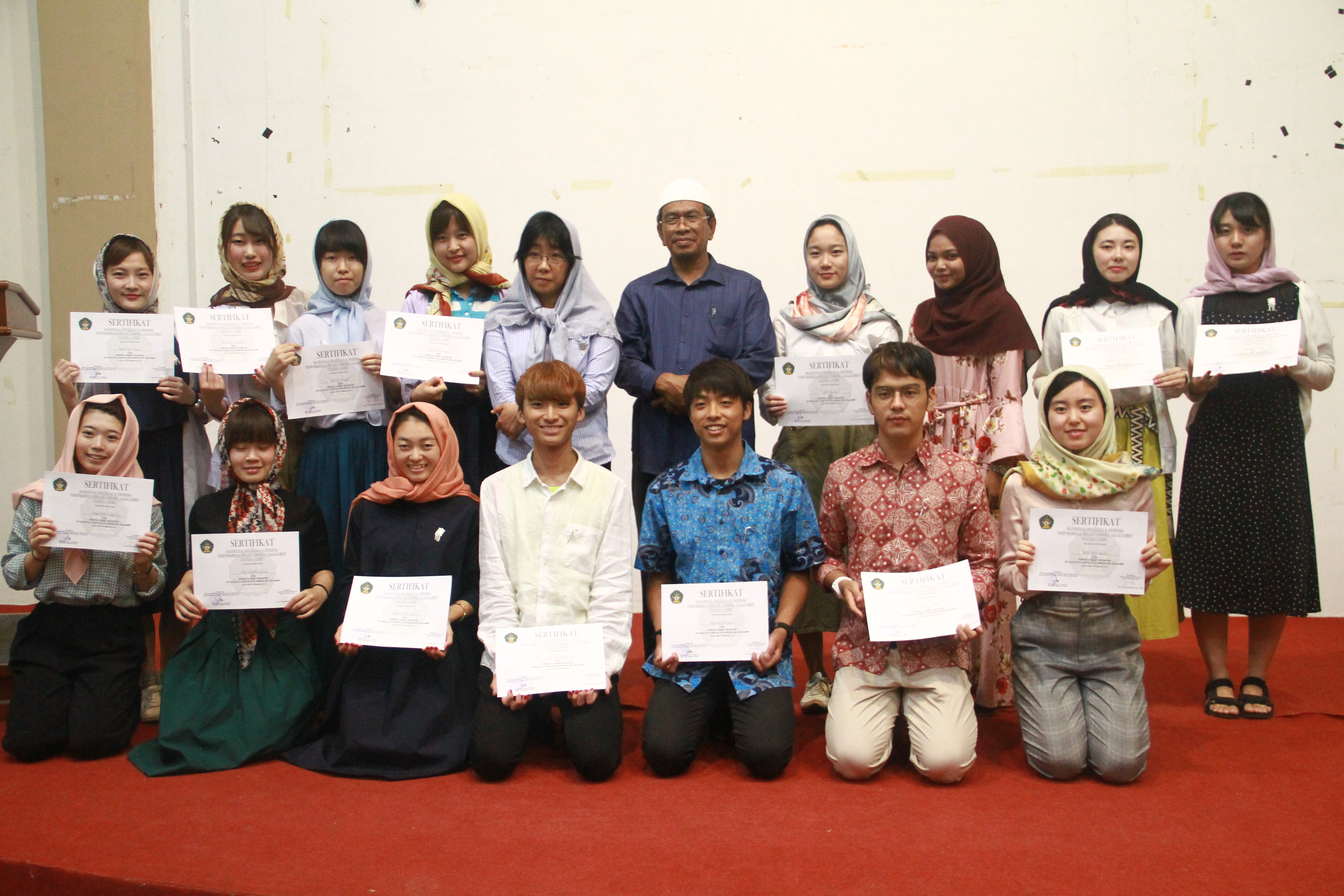 UIN Ar-Raniry Selenggarakan Perpisahan dengan Mahasiswa Jepang
