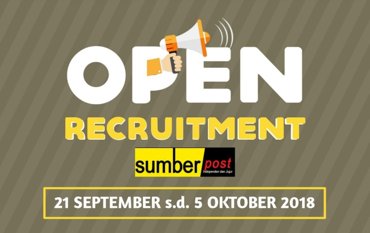 Sumberpost Gelar Open Recruitment, Berikut Syaratnya
