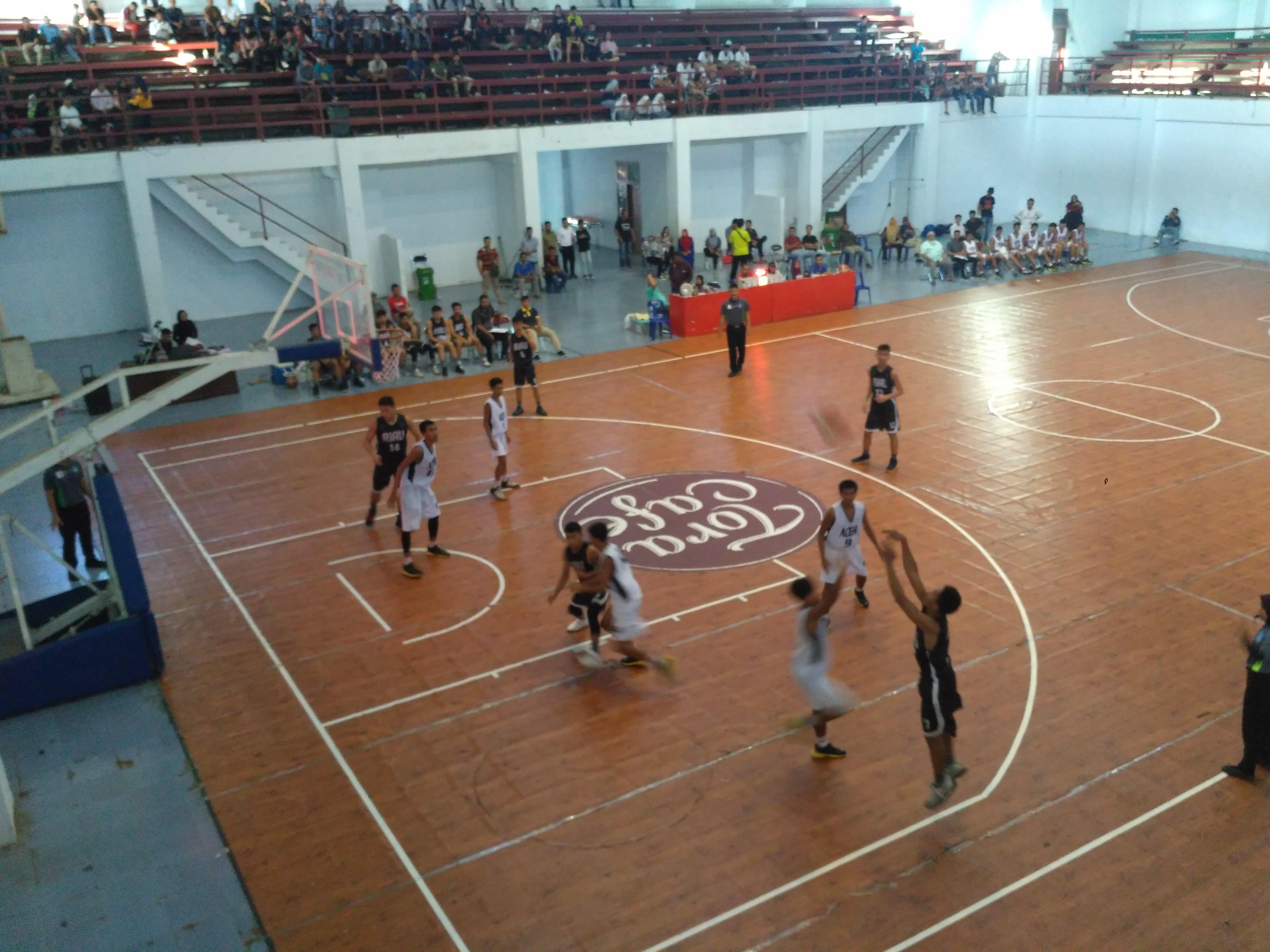Popwil 2018, Langkah Tim Basket Putra Aceh Terhenti