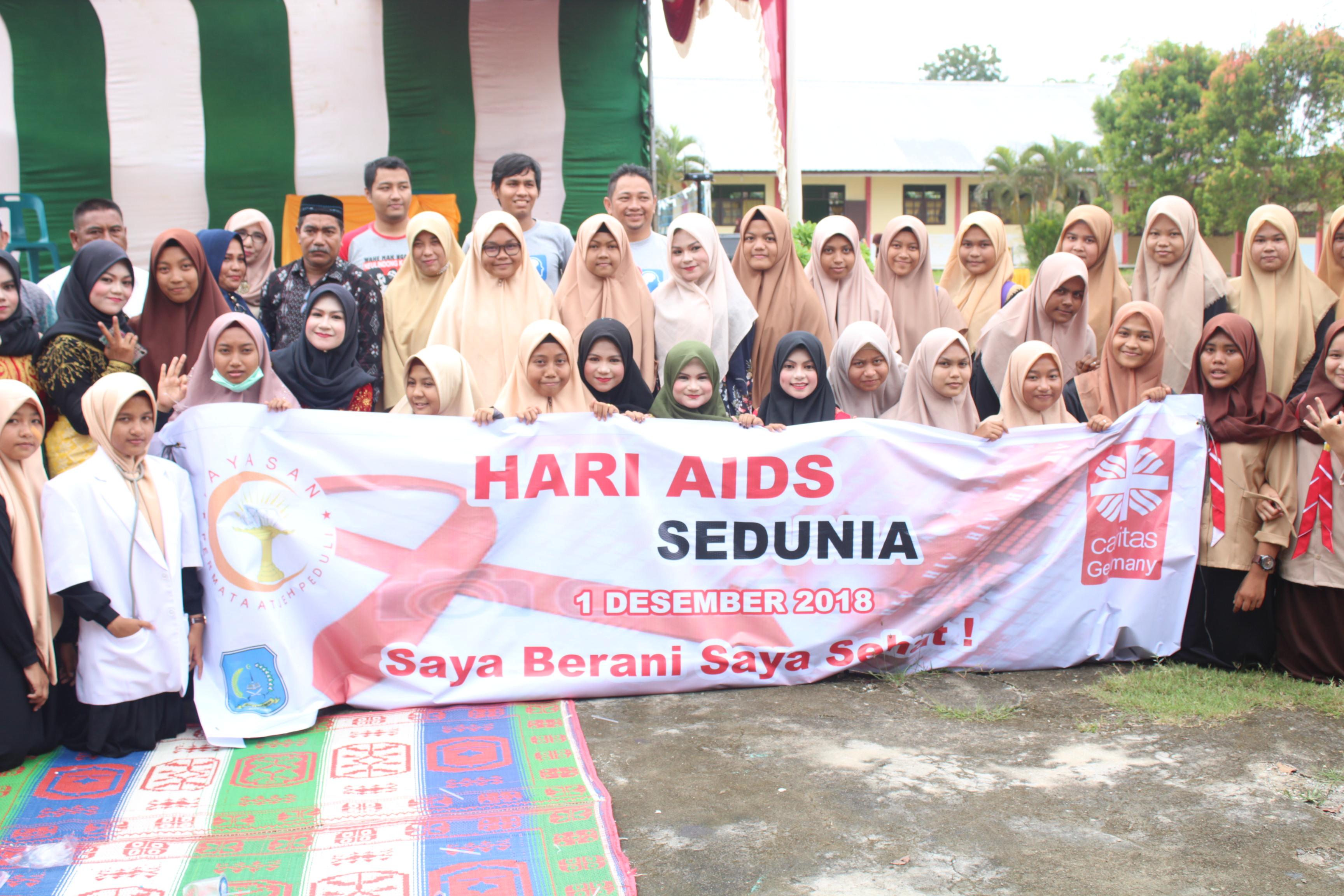 YPAP Rayakan Hari Aids Se-dunia