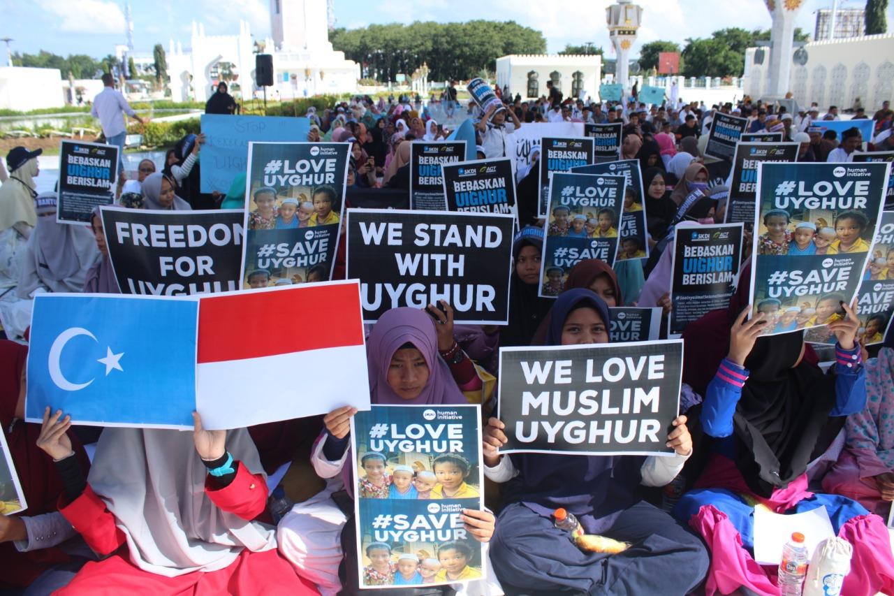 Masyarakat Aceh Desak Pemerintah Tuntaskan Penindasan Etnis Uighur di Cina