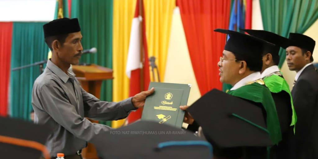 Rektor UIN Ar-Raniry Ucapkan Bela Sungkawa untuk Mahasiswa Meninggal Dunia Sebelum Wisuda